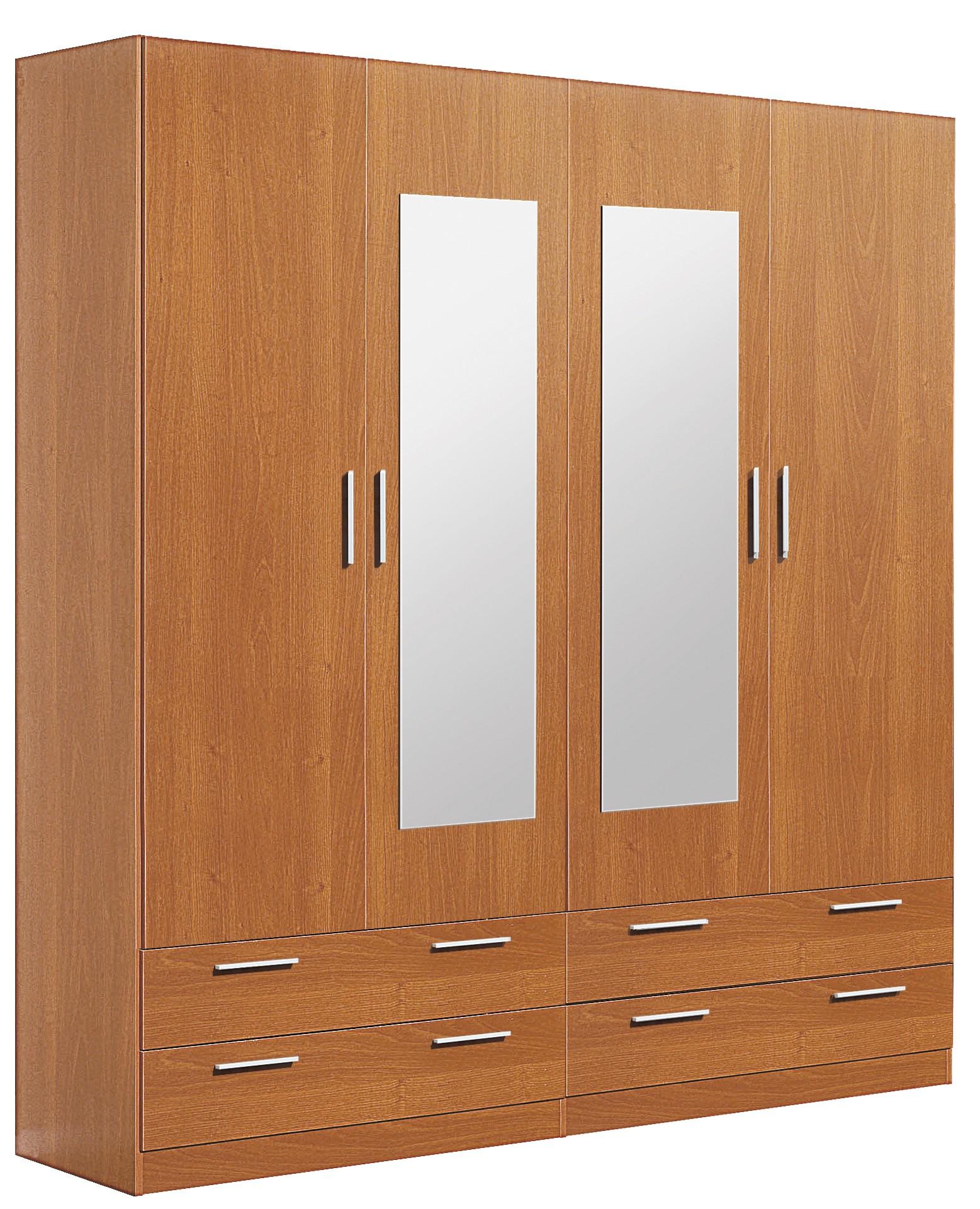 Armario 4/p con lunas |armario|dormitorio|matrimonio|mueble|