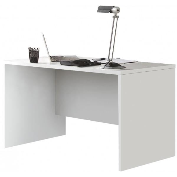 Mesa escritorio blanco cerezo mueble oficina - Escritorio blanco ...