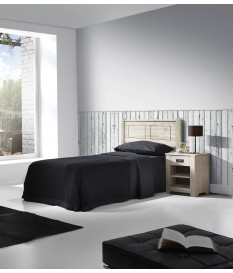 Dormitorio Juvenil Niza Blanco lavado.